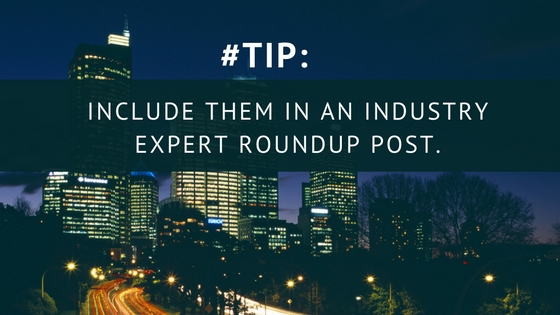 B2B blogging roundup post
