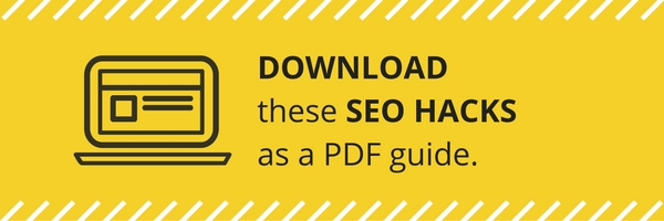 Download these SEO Hacks