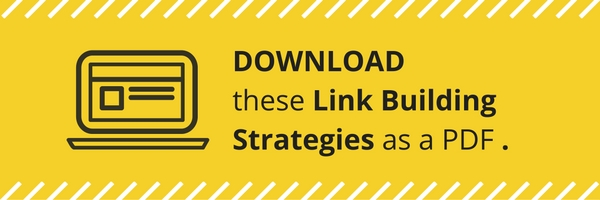 Link Building Strategies PDF Guide