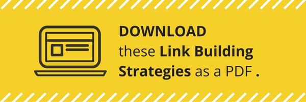 Link Building Strategies PDF Guide