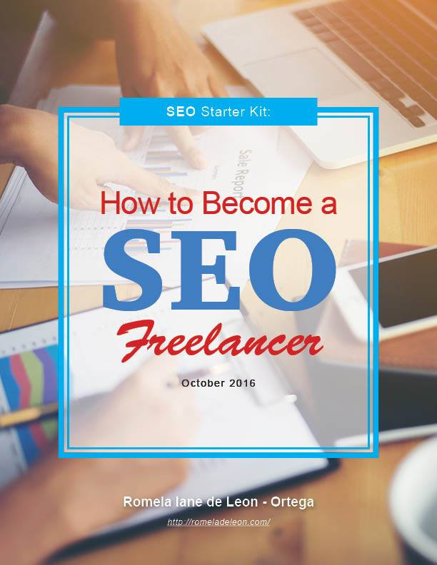 SEO Starter Kit ebook