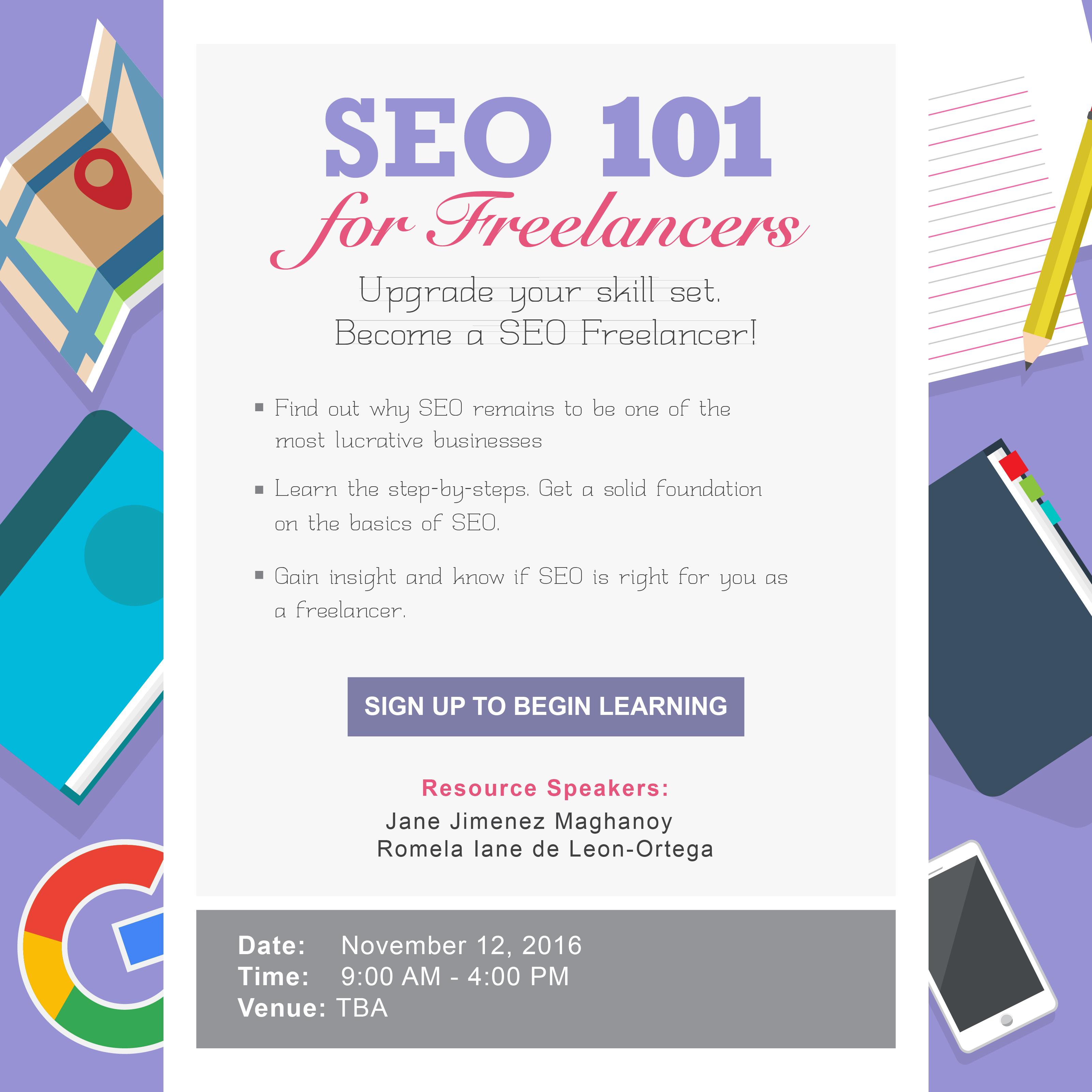 SEO 101 Basics Seminar Workshop