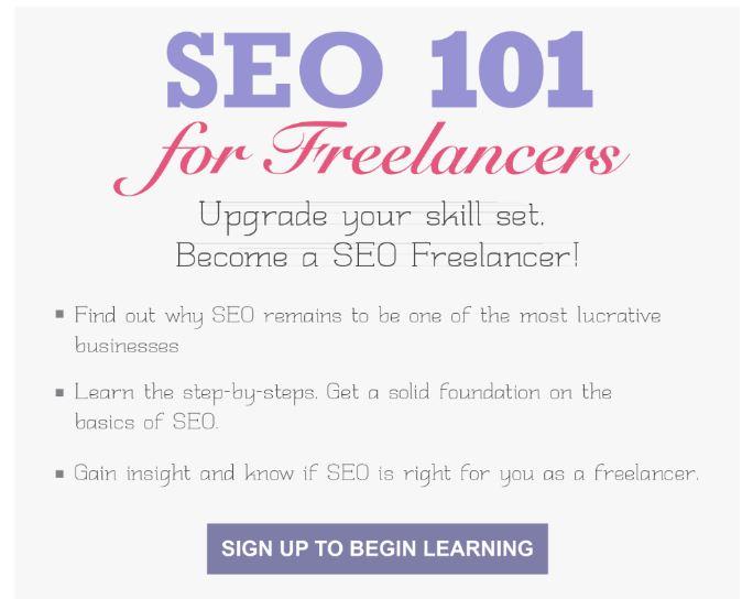 Learn SEO Basics at the SEO 101 Seminar